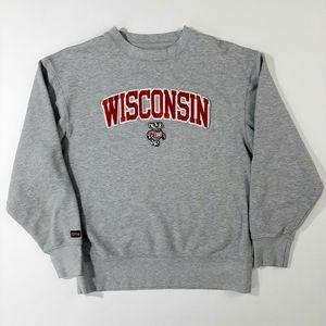 Jansport Sweaters - Jansport Wisconsin Badgers Crewneck Sweater Size:M